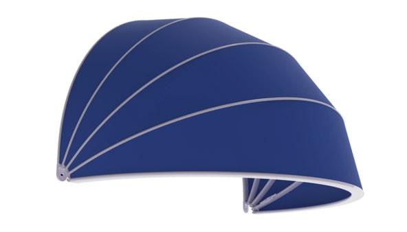 tenda da sole a cappottina cupola lartes