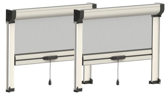 Zanzariera verticale per finestra a cricchetto lartes